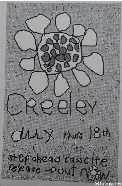creeley trackball blank poster
